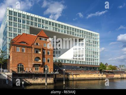 Publishing House In Hamburg - Stock Image