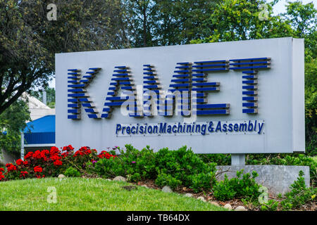 Kamet precision machining in the Silicon Valley California USA - Stock Image