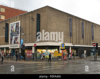 Primark store in Leicester, UK. - Stock Image