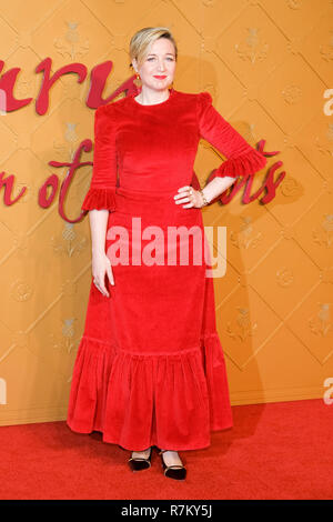 London, UK. 10th Dec 2018. Director Josie Rourke at Mary Queen Of Scots European Premiere on Monday 10 December 2018 held at Cineworld Leicester Square, London. Pictured: Josie Rourke. Credit: Julie Edwards/Alamy Live News - Stock Image