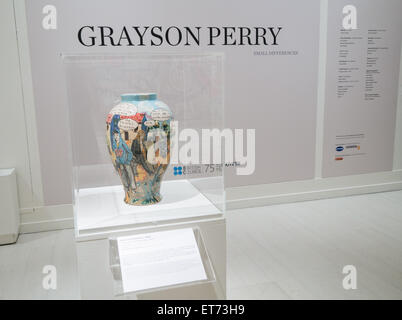 Grayson Perry exhibition - Stock Image