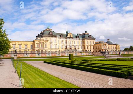 Garden Drottningholm - Stock Image
