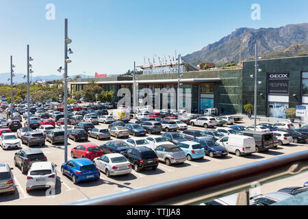 La Canada shopping centre, Marbella, Costa del Sol, Malaga Province, Andalusia, southern Spain. - Stock Image