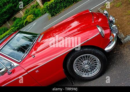 1969 MGC GT - Stock Image