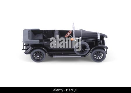 The Classic black car. - Stock Image