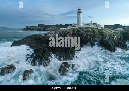 Fanad Lighthouse situated in Co Donegal, Ireland. - Stock Image