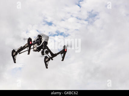 Inspire 1 flying in Virginia Beach, Virginia - Stock Image