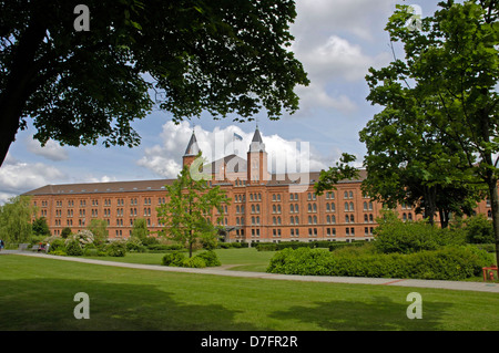 Germany, Lower Saxony, Celle, new city hall, former infantry barracks of 1872 - Stock Image
