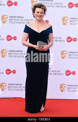 London, UK. 12th May, 2019. LONDON, UK. May 12, 2019: Monica Dolan arriving for the BAFTA TV Awards 2019 at the Royal Festival Hall, London. Picture: Steve Vas/Featureflash Credit: Paul Smith/Alamy Live News - Stock Image