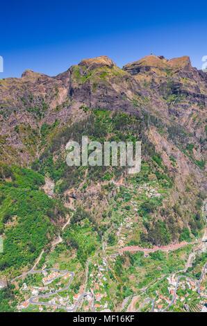 Curral das Freiras on Madeira Island, Portugal - Stock Image
