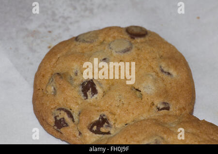 chocolate chip cookie, cookies, - Stock Image