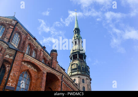 St Petres Church, Riga, Latvia - Stock Image