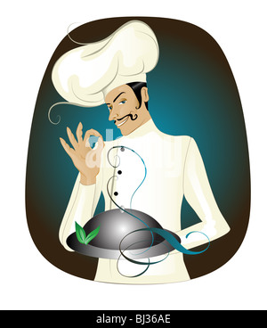 Chef - Stock Image
