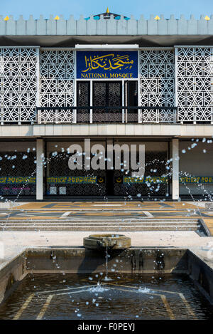 National Mosque, Kuala Lumpur, Malaysia - Stock Image