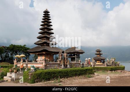 Ulundanu Temple in Bali - Stock Image
