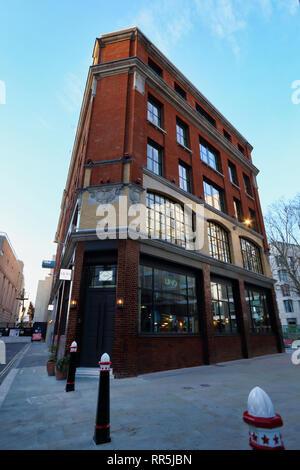 Lino Bar in City of London, London, England, UK - Stock Image