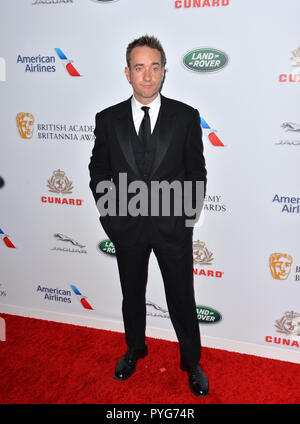 Beverly Hills, California, USA. October 26, 2018: Matthew Macfadyen at the 2018 British Academy Britannia Awards at the Beverly Hilton Hotel. Picture: Paul Smith/Featureflash Credit: Paul Smith/Alamy Live News - Stock Image