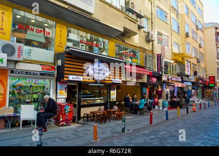 Nail Bey sokak, Kadikoy, Istanbul, Turkey, Asian side, - Stock Image