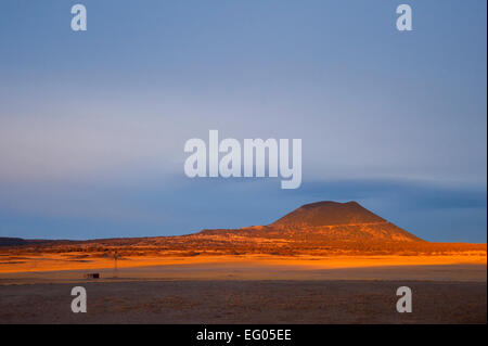 Montana Landscape golden light dessert - Stock Image