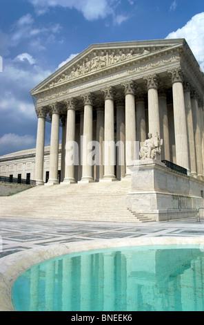 US Supreme Court, Washington, DC - Stock Image