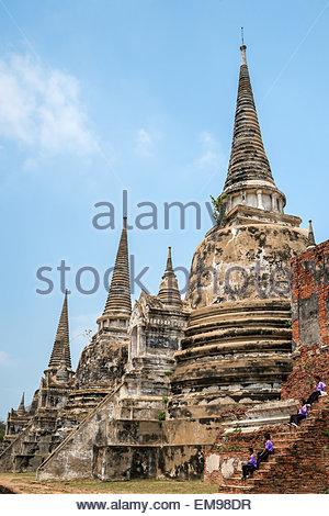 Ayutthaya - Thailand - Stock Image