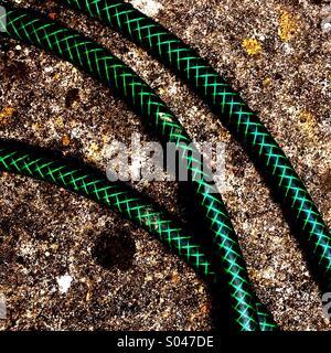 Garden Hose Pipe - Stock Image