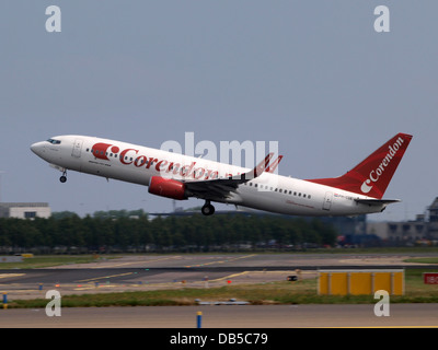 PH-CDE Corendon Dutch Airlines Boeing 737-8KN(WL) - cn 35795 - Stock Image