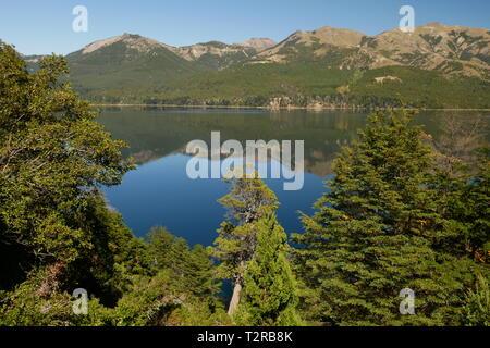 Meliquina Lake, Neuquen, Patagonia Argentina - Stock Image