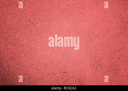 Abstract pink paper texture background. Color of the Year for 2019 - Living Coral. - Stock Image