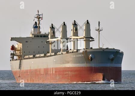 Bulk-Carrier Star Harmony - Stock Image