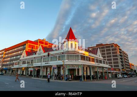 Historical Victoria Hotel in Pretoria, South Africa - Stock Image