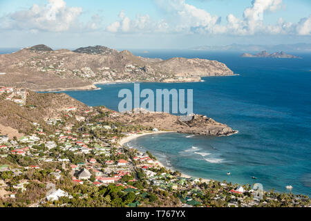 Lurin and St Jean, St Barts - Stock Image
