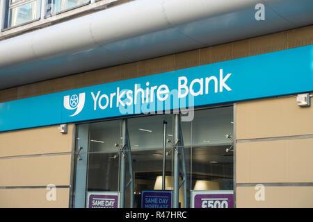 Yorkshire Bank Building in Bradford, West Yorkshire, UK - Stock Image