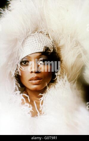 Diana Ross / Mahogany / 1975 directed by Berry Gordy and Tony Richardson (Motown Productions / Nikor Productions - Stock Image