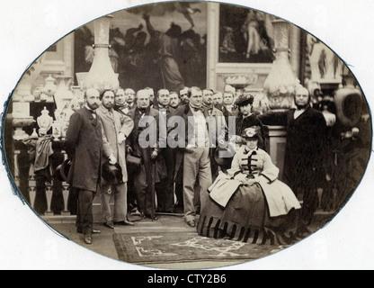 Prince Napoleon and Princess Clotilde, ca 1860 - Stock Image