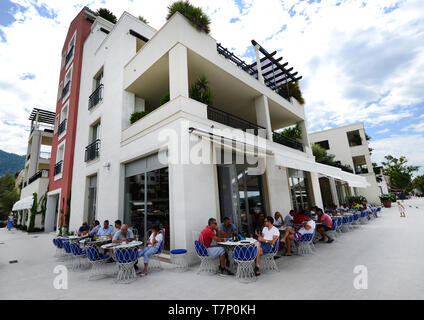 The popular Al Posto Giusto - Stock Image