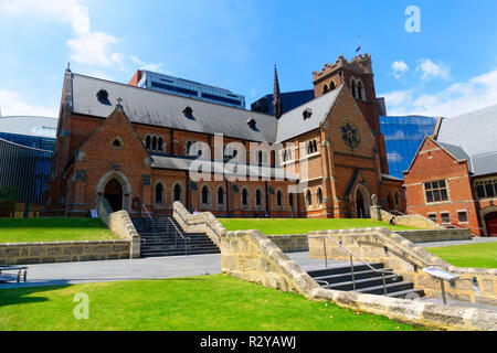 St.Georges Cathedral, Perth, Western Australia - Stock Image