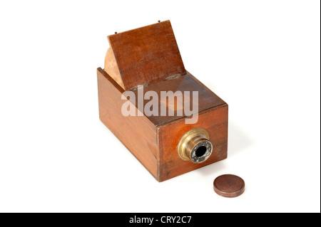 Camera Obscura, 1860c - Stock Image