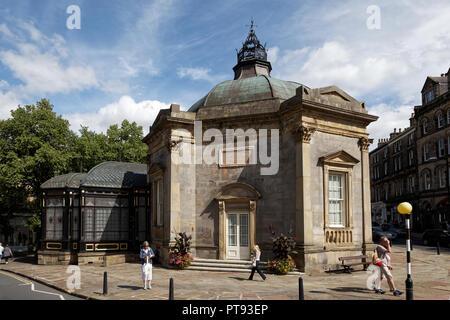 Royal Pump Room Museum, Harrogate, North Yorkshire, England, UK - Stock Image