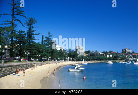 Australia New South Wales Sydney Manly - Stock Image