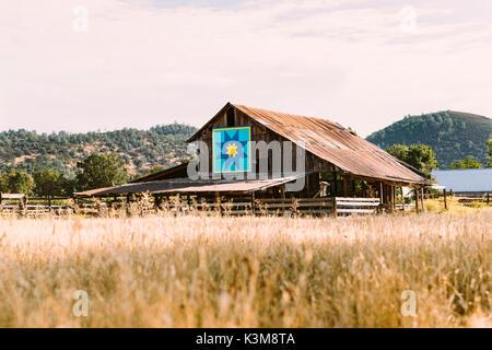 Farm Barn - Stock Image