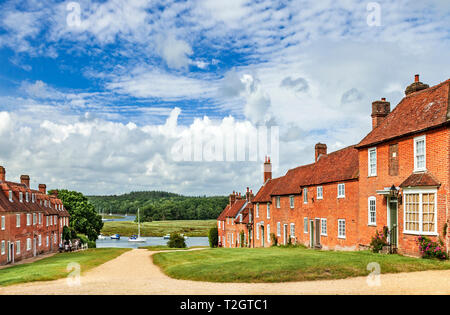 Bucklers Hard. - Stock Image