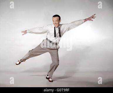 Fred Astaire / Daddy Long Legs / 1955 directed by Jean Negulesco (Twentieth Century Fox Film Corporation) - Stock Image