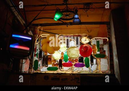 Budapest Hungary Ruin Bar Pub Szimpla Kertmozi - Stock Image