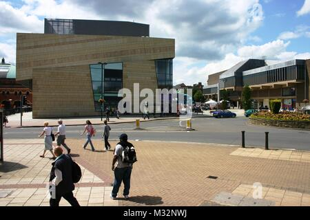 Derby city centre - Stock Image