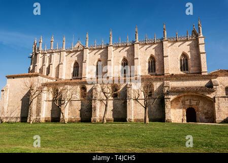 Cartuja de Miraflores monastery, Burgos, Castilla y Leon Spain . - Stock Image