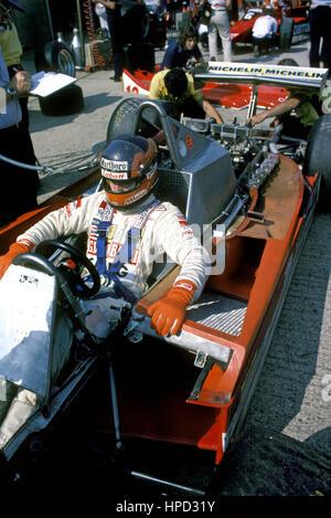 1983 Gilles Villeneuve Canadian Cockpit Ferrari 126C2B - Stock Image