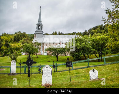 SAGUENAY, QUEBEC- September 18, 2018: Saguenay is a city in the Saguenay Lac-Saint-Jean region of Quebec. Its economy is still strongly routed in tour - Stock Image