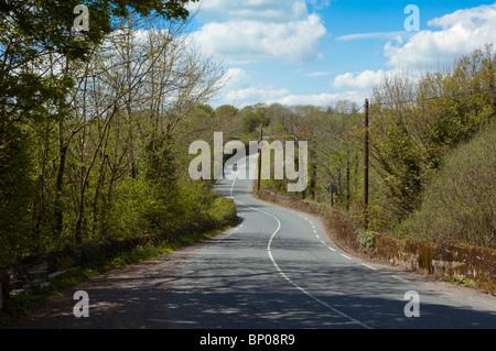 Lonesome Road #48. Irish country road - Stock Image