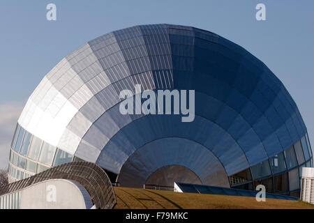 space age building Japan futuristic design - Stock Image